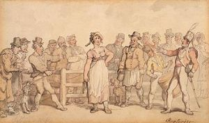 Wife SellingThomas Rowlandson