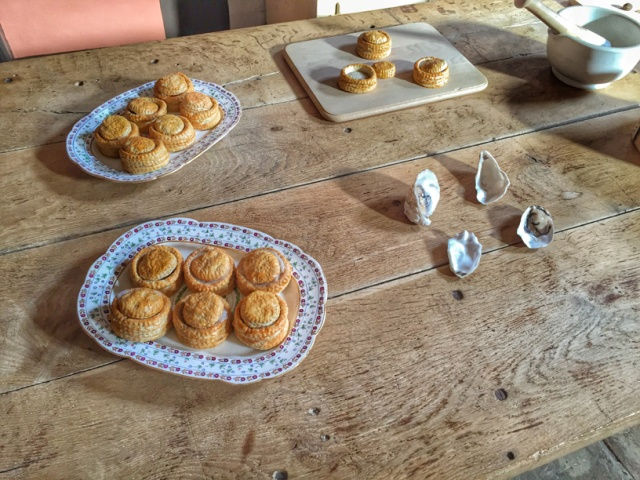 Felbrigg Hall pie-making
