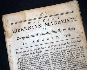A Typical 18th-Century Magazine