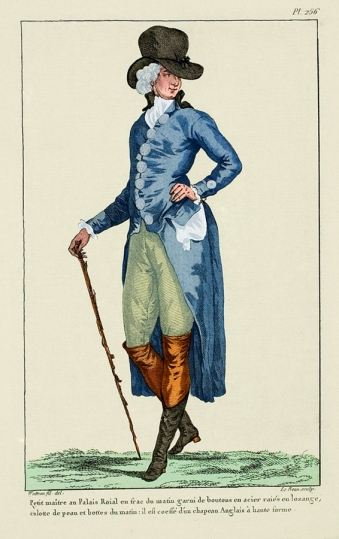 18th Century Fashion Plate 256