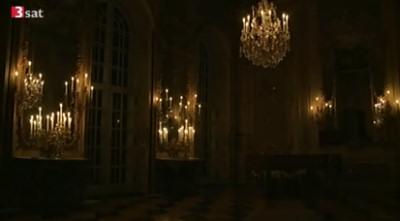 candlelit room