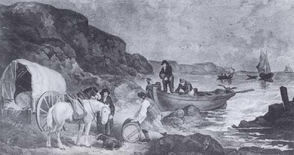 Smugglers by G. Morland