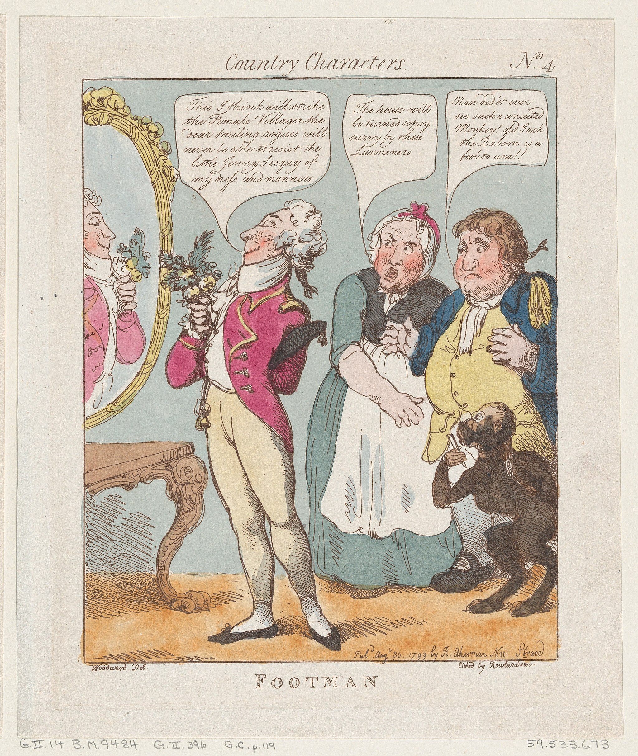 Amorous Pics the case of the amorous footman | pen and pension